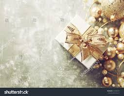 present gold ribbon gold stock photo 514398181