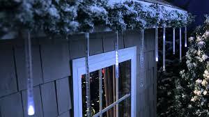philips led cascading icicle light set 12 count