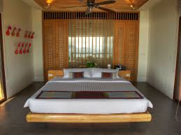 Floating Bedframe by Villa Kiana Villa Design With Amazing Panoramic Surrounding