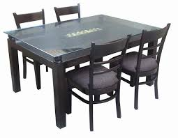 Champagne Dining Room Furniture Glass Dining Table Price In Delhi Gallery Dining