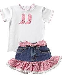 amazon com kiddie korral toddler girls u0027 cowgirl boot bandana