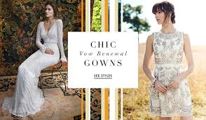 vow renewal dresses 16 adorable styles from the fall 2016