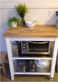 kitchen island microwave cart ikea kitchen cart stenstorp microwave on lower level home