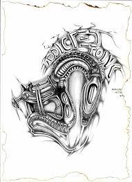 tattoo gun sketch alien tattoo machine by zainea on deviantart