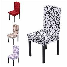 kitchen stretch dining chair covers thick dining room chair