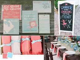 What Color Compliments Pink by Wedding Color Palettes We Love