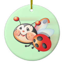 ladybug ornaments keepsake ornaments zazzle
