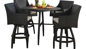 Patio High Table And Chairs Furniture 2 Heigh Patio Chairs With Small Bar Height Patio Table