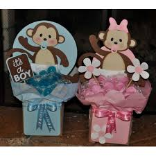 monkey baby shower ideas appealing pink monkey baby shower decorations 51 for your