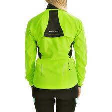 hi vis cycling jacket waterproof pearl izumi elite barrier convertible jacket for women save 45