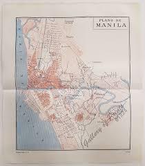 Plano Map Plano De Manila U2013 Gallery Of Prints