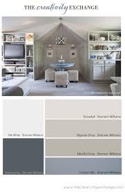 room color palette office craft room paint color palette paint it monday