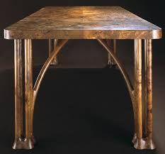 examples of furniture designs by john makepeace tables