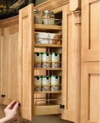 Wall Mount Spice Cabinet With Doors 37 Types Noteworthy In Cabinet Spice Rack Slide Farmhouse Kitchens