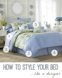how to style your bed like a designer home tips pinterest