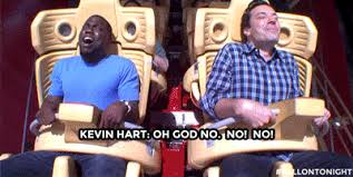 1000 Ideas About Kevin Hart - kevin hart totally loses it when jimmy fallon makes him ride a