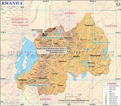 United States Map Mountains And Rivers by Rwanda Map Map Of Rwanda