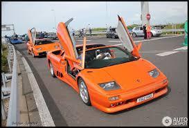 lamborghini diablo orange lamborghini diablo vt roadster 11 july 2015 autogespot