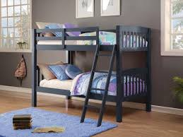LOWEST PRICE Donco Kids TwinTwin Mission Bunk Bed Navy TTB - Navy bunk beds