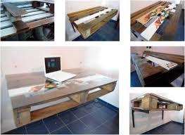 Floating Desk Diy Floating Wood Pallet Desk Web Design Columbia Mo Ellis Benus