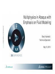 abaqus multiphysics computational fluid dynamics continuum