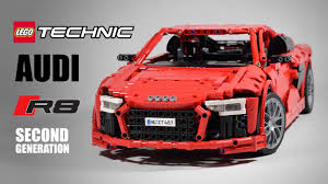 second generation audi r8 audi r8 v10 second generation lego technic