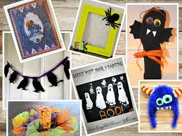 halloween picture frame crafts yesterfood halloween crafts and decorating ideas from treasure