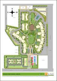 site plan of gpl eden heights project sector 70 gurgaon eden