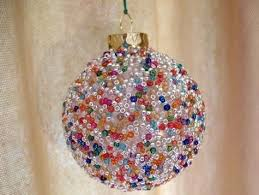 create colorful seed bead ornaments to adorn your crafty