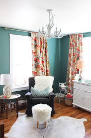 Green Walls What Color Curtains Curtains Awesome Turquoise And Orange Curtains Living Room With
