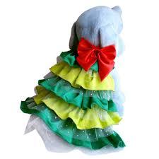 christmas tree dog dress christmas tree dog costume