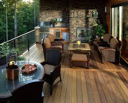Patio Terrace Design Ideas Wow Once You Open That Glass Sliding Door The Deck Gives You The