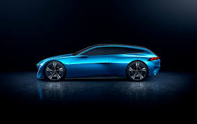 peugeot supercar peugeot u0027s instinct concept car is its vision of an autonomous near
