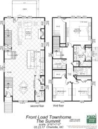 townhomes floor plans the summit at river run townhomes peachtree residential
