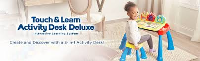 learning desk for vtech touch and learn activity desk deluxe interactive learning