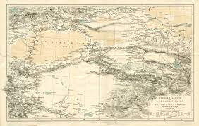 Northern Asia Map by Central Asia Pre 1899