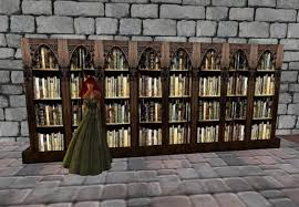 Bookshelf Antique Second Life Marketplace Tig U0027s Antique Bookshelf Boxed