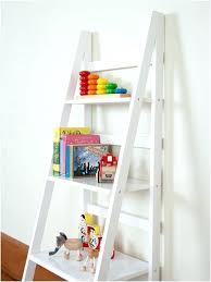 desk stunning innovation leaning ladder 5 shelf bookcase