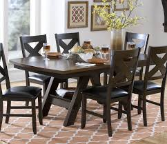 homelegance 5022 78 rockville two tone dining table