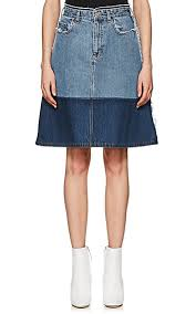 denim skirt acne studios halona denim skirt barneys new york