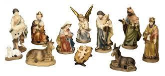 amazon com 11 piece nativity set home u0026 kitchen