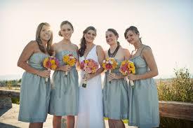 blue gray bridesmaid dresses blue bridesmaids dresses elizabeth designs the wedding