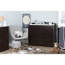 Espresso Changing Table Espresso Dresser Changing Table Rc Willey Furniture Store