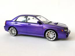 purple subaru impreza subaru impreza wrx sti готовые модели scalecustoms