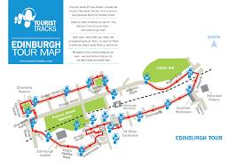 Edinburgh Map Edinburgh Mp3 Audio Walking Tours Tourist Tracks