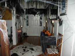 how to decorate a haunted house for halloween halloween entrance home design ideas