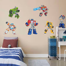 transformers rescue bots collection wall decal shop fathead for transformers rescue bots collection wall decal shop fathead for transformers decor
