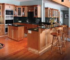 Hickory Kitchen Cabinets Kitchen Kitchen Kitchens With Hickory Cabinets Designer Hickory