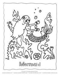 mermaid coloring pages book u003c echos mermaid pictures