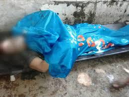 mayat pria tak bercelana ditemukan di sungai ciliwung polres